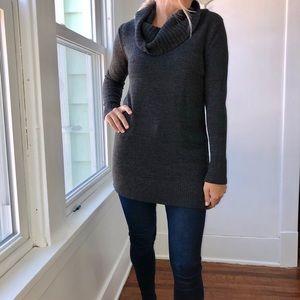 Dark Grey Knit Sweater